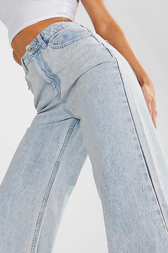 Denim Fit - Wide Leg Jeans